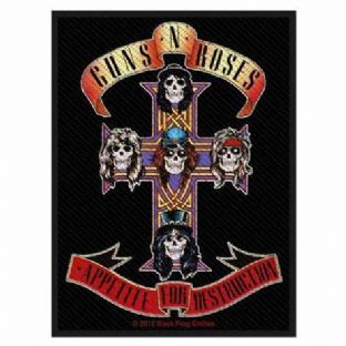 Guns N' Roses - Appetite For Destruction - Large Sew On Patch